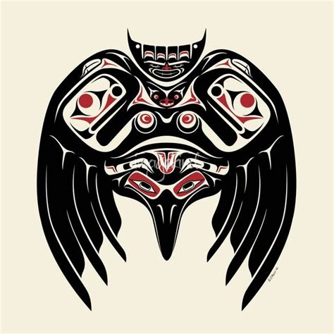 north american tribal tattoos pacific northwest indian symbols images