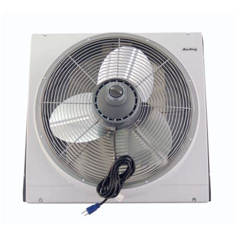 air king whole house window fan air king 9166 20 inch 3560 cfm whole house window mounted fan with storm guard