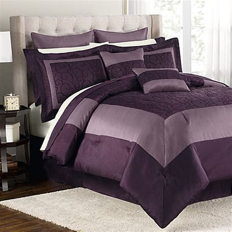 bed bath and beyond comforters queen buy audrey 12 piece queen comforter set from bed bath beyond