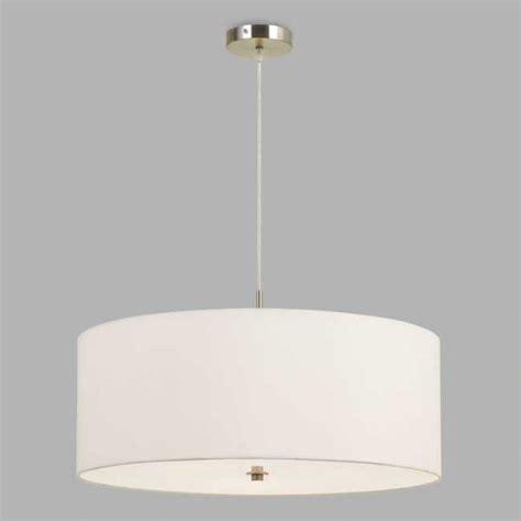 large white fabric drum  light billie pendant lamp drum