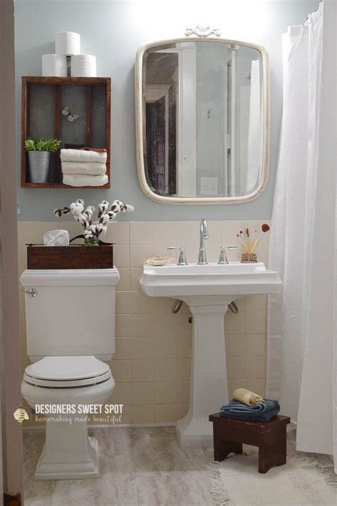 10 steps to a glamorous bathroom style at home hometalk 10 steps to a fixer upper style bathroom