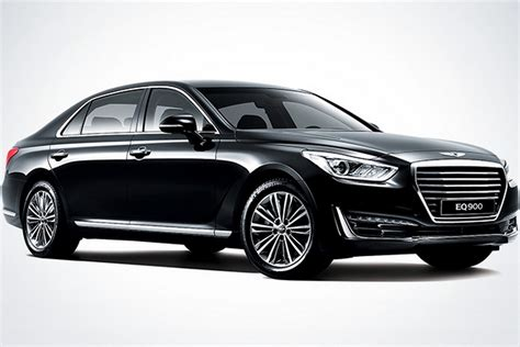 2017 genesis g90 sedan revealed ushers in hyundai s new