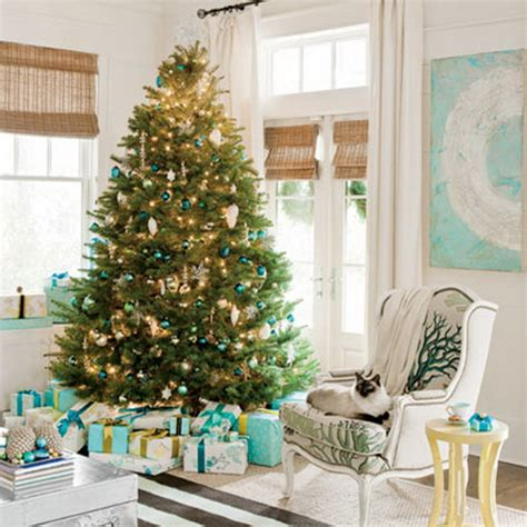 50 magnificent coastal themed christmas interior decor