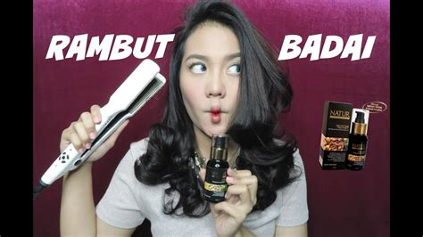 cara catok rambut badai catok rambut badai tutorial beranicatok 2016 indonesia