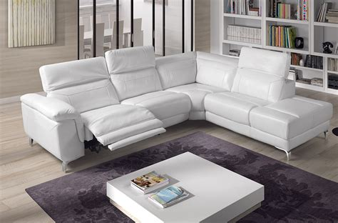 canape angle relax cuir canape angle cuir relax electrique maison design