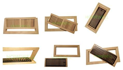 wood floor vent is good HVAC system solution for your room.