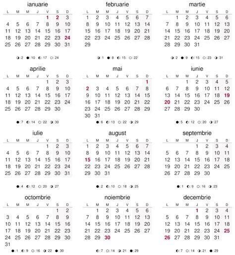 printable calendar 2016 romanesc calendar 2016 ora exacta in romania