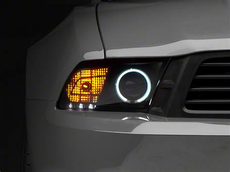 Lu Projector Gt 125 raxiom mustang smoked projector headlights ccfl halo 49108 10 12 gt v6 w factory hid
