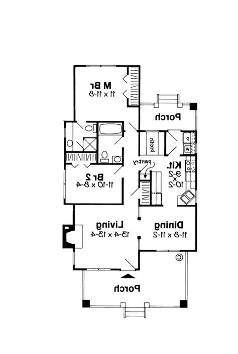 house plan 92395 at familyhomeplans com plan bungalow house plans with photos