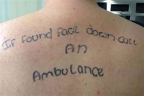 drunk tattoos 10 of the worst drunken stories wow gallery