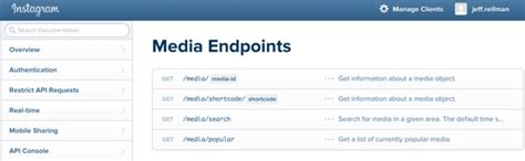 tutorial instagram api php getting started with the instagram api media endpoints