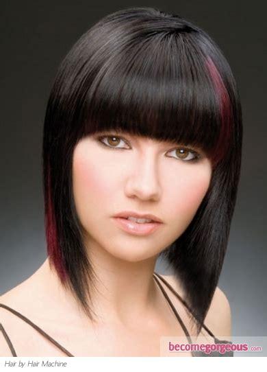 Hair Style Machine by Pictures Medium Hairstyles Sleek Medium Bob Hair