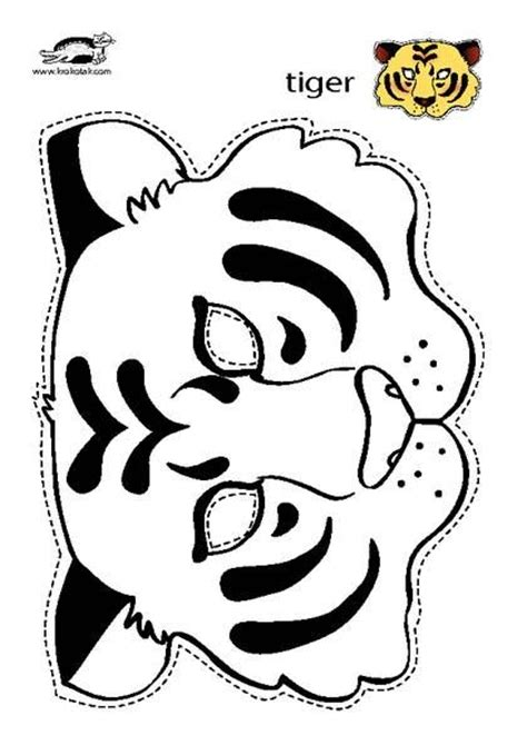 tiger template printable 25 unique tiger mask ideas on awesome masks