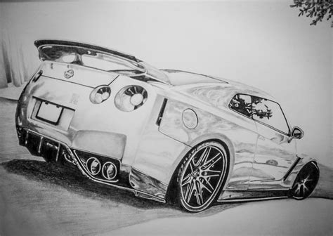 nissan skyline drawing gtr drawings images reverse search
