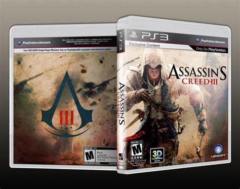 amazoncom assassins creed playstation 3 artist not assassin s creed 3 playstation 3 box art cover by solid romi