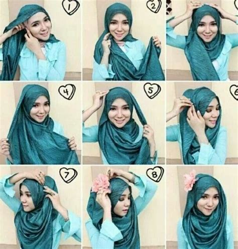 hijab tutorial pashmina for party comment faire un hijab moderne hijabook