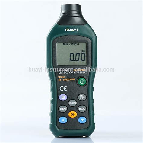 Meter Rpm non contact digital rpm meter tachometer ms6208b ms6208b