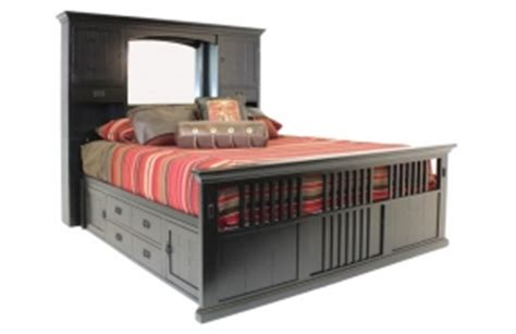 Cal King Captains Bed San Mateo Bedroom Set Foter
