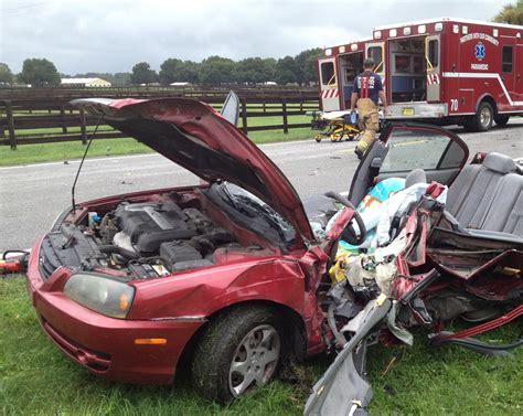car crash ocala fl ocala post two critically injured in on 225a