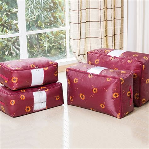 storage for comforters quality clothes bedding duvet handles laundry pillows