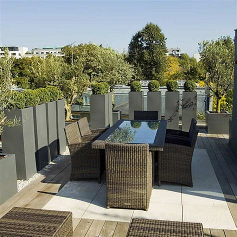 rooftop terrace design garden design process