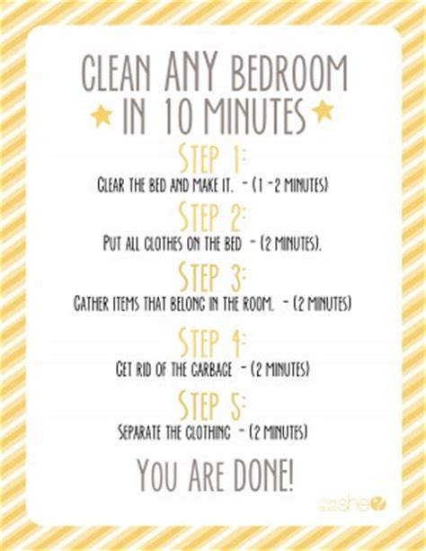 bedroom cleaning tips how to teach your child to clean any bedroom in 10 minutes
