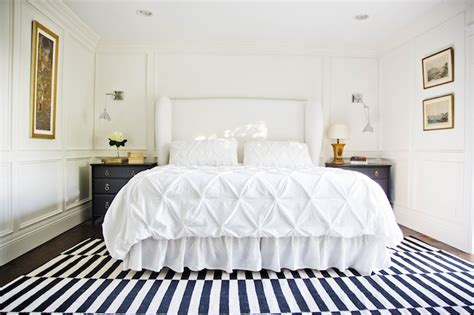 white and gold bedroom ideas white upholstered headboard contemporary bedroom