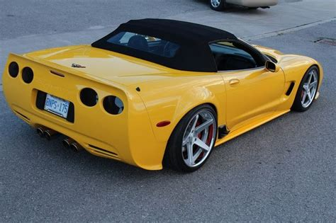 Corvette Z06 Tieferlegen by Chevy Corvette C5 360 Forged Wheels Turning Look
