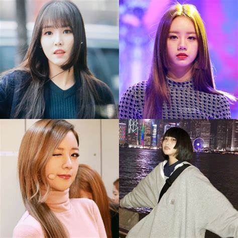 Model Rambut K Pop Wanita gaya rambut yang sedang populer di kalangan idol k pop