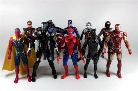 Figure Civil War 5pcs Captain Americaironmanavengermarvelsuperhero 1 buy wholesale war machine figures from china war