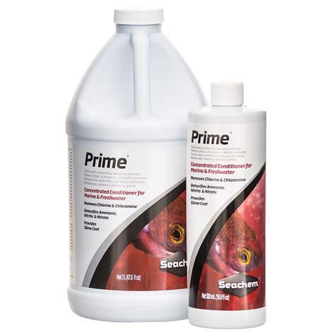 Seachem Prime Ammonia Detox by Seachem Seachem Prime Water Conditioner Aquarium Water