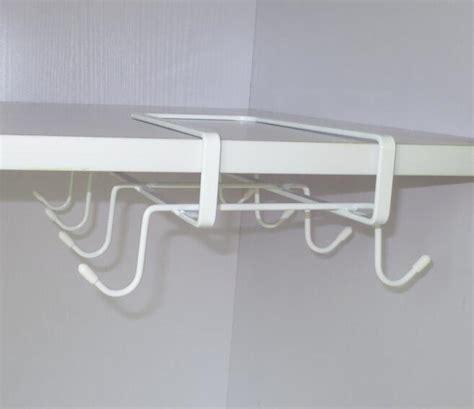 Cup Holders For Kitchen Cabinets White Cabinet Shelf Cups Rack Metal Holder Hanging Organizer Kitchen Lj Ebay