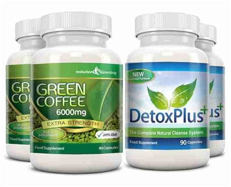 Burning Dairy Detox by Green Coffee Capsules Colon Cleansing Burning Detox