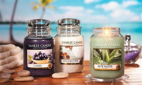 candele profumate yankee candele yankee candles groupon