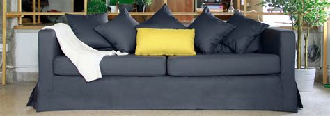 custom couch slipcover customized sofa slipcover comfort works custom slipcovers