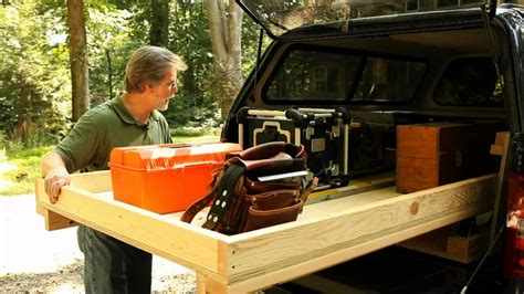 How To Make A Tool Box Out Of Paper - rolling truck bed toolbox