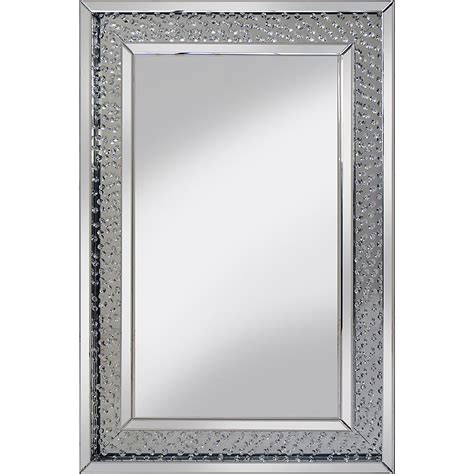 crystal bathroom mirror rhombus crystal rectangular modern mirror pha rhombus