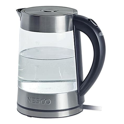 bed bath and beyond kettle nesco 174 electric water kettle bed bath beyond