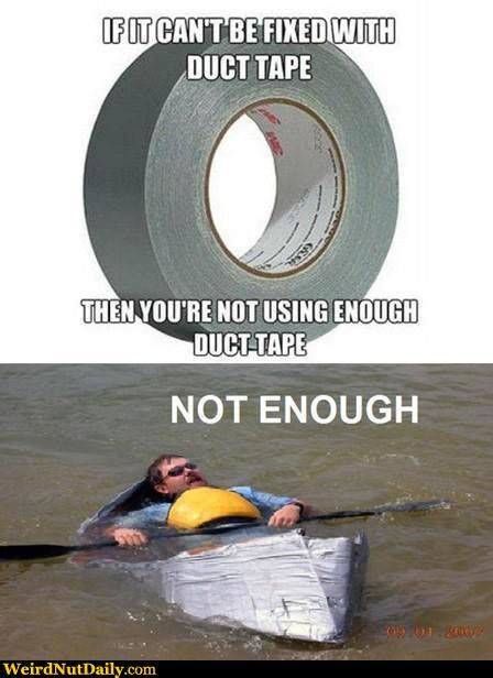 duck boat jokes funny pictures weirdnutdaily not enough duct tape