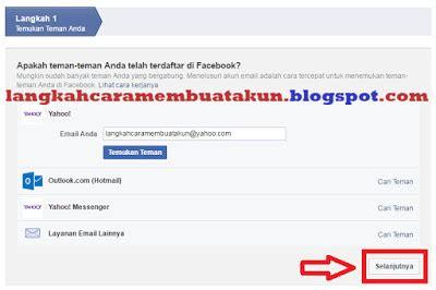 membuat facebook menggunakan email daftar facebook menggunakan email 5 menit selesai