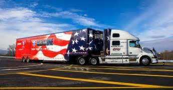 Volvo Trucks In Canada Volvo Trucks Dedicates 2015 Volvo Vnl 780 To America S