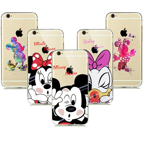 Iphone 7 Plus Peekaboo Minnie lovely minnie mickey mouse coque for iphone 8 7 6s plus 5 5s se phone cases