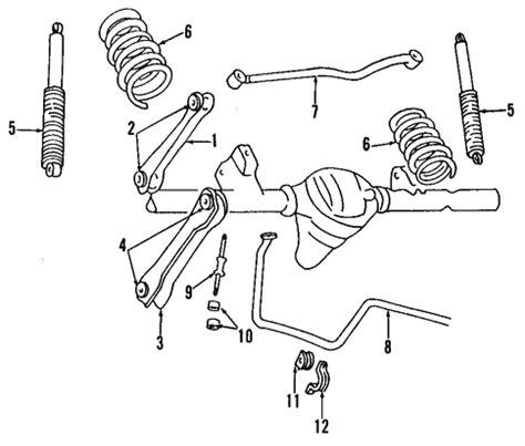 1997 jeep grand front suspension diagram rear suspension for 1997 jeep grand