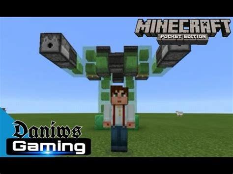 membuat robot minecraft cara membuat robot di minecraft pe bisa bergerak mcpe 1