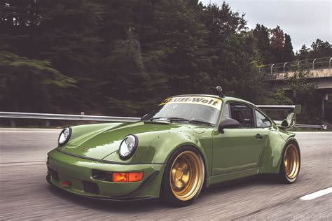 porsche rwb 996 rough world expression is everything