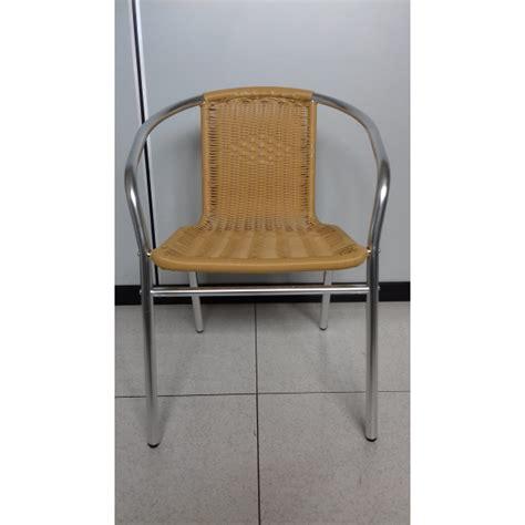 Sedie Per Giardino In Alluminio by Sedia Da Esterno Giardino Bar Sedie In Alluminio E Rattan