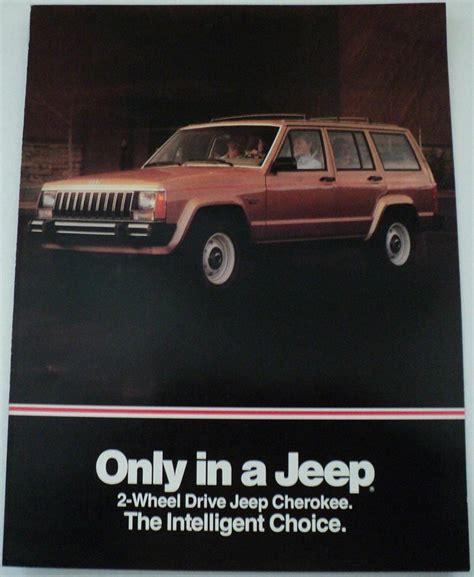 Jeep Dealer Parts Catalog 1984 Amc Jeep Eagle Accessories Catalog Original Dealer