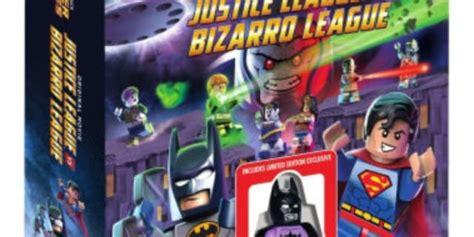 lego movie justice league vs lego justice league vs bizarro league movie revealed
