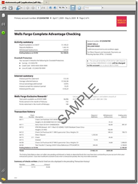 Electronic Statements Archives Page 2 Of 3 Finovate Bb T Bank Statement Template