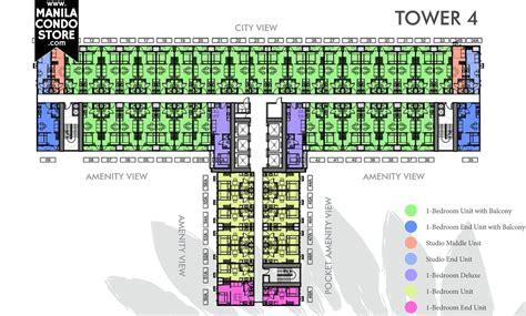 Bedroom Floorplan smdc fern residences